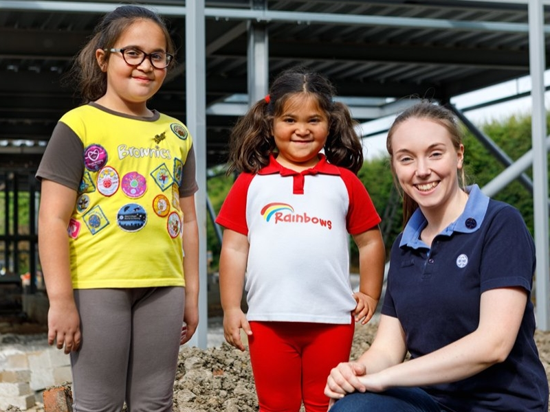 Persimmon Homes Yorkshire supports Harrogate Girlguiding new activity centre