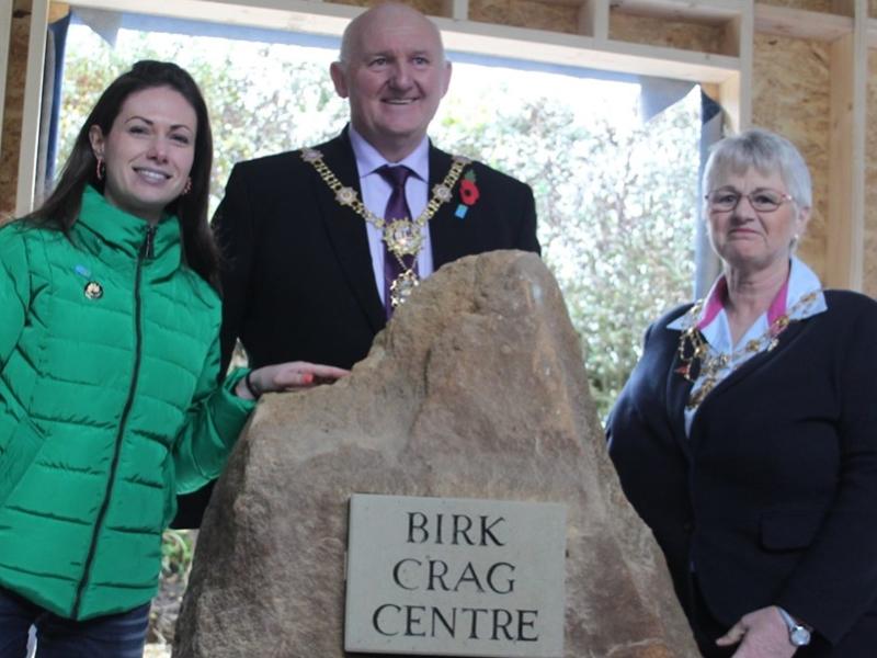 Birk Crag Stone Unveiling