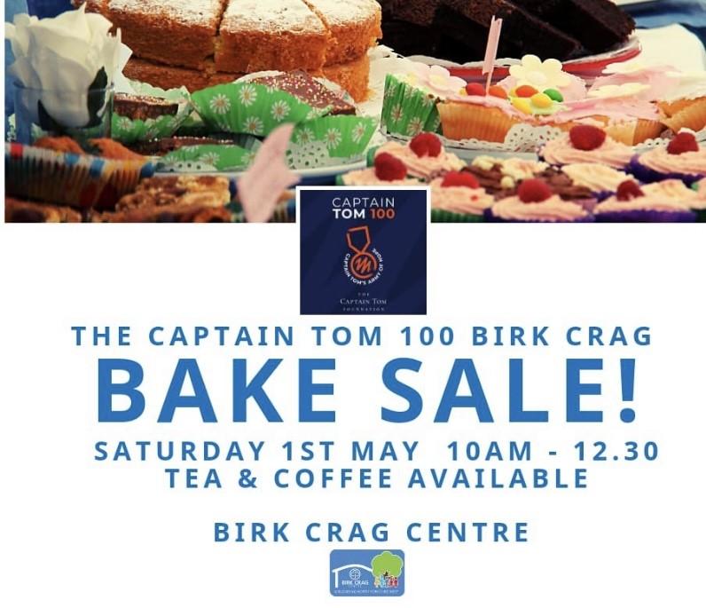 The Captain Tom 100 Birk Crag Bake Sale